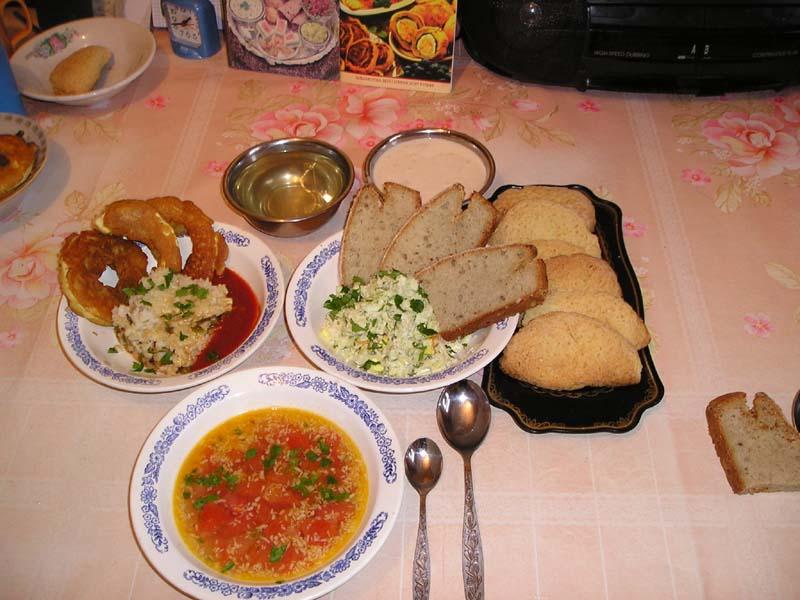 Обеды в домашних условиях